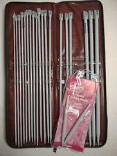 New ListingVintage Susan Bates Knitting Needles 8 Sets w/ Case and Circular Needle