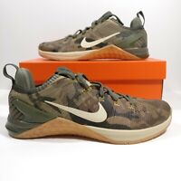 Mens Nike Metcon DSX Flyknit 2 Olive Green Camo 924423-300 Shoes Multi Size