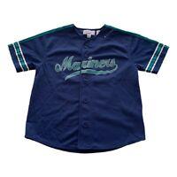 Seattle Mariners Ken Griffey Jr #24 Sewn MLB Baseball Starter Jersey Youth Large