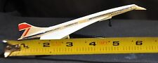 VINTAGE CORGI TOYS Concorde British Airways G-BBDG Metal Plane w/metal stand
