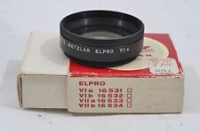 MINT- LEICA LEITZ VIa ELPRO CLOSE-UP LENS #16531 IN BOX