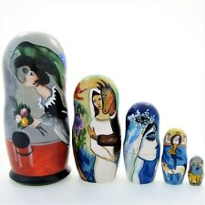 Poupées russes exclusive H19 Marc Chagall Matriochka Matrioshka Matrioska Nested