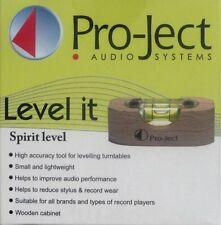 PRO-JECT - TURNTABLE - SPIRIT LEVEL - LEVEL-IT - KLEINE WASSERWAAGE