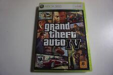 Grand Theft Auto IV 4 ORIGINAL (Microsoft Xbox 360) Complete GREAT Shape