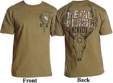 Men's Metal Mulisha Six Point Buck Hunting T-Shirt Realtree Camo Size Small