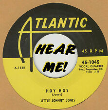 R&B REPRO: LITTLE JOHNNY JONES - Hoy Hoy/Doin' The Best I Can ATLANTIC