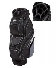 New Top Flite Gamer Golf Club Cart Bag - Black - 14-Way Padded Divider