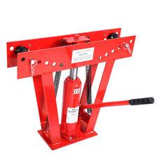12 Ton Heavy Duty Hydraulic Pipe Bender Tubing Exhaust Tube Bending W/ 6 Dies