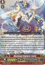 CARDFIGHT VANGUARD CARD: MAXIMUM RAPTURE, LUCIA - G-CB05/021EN R RARE