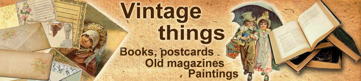 Vintage Store - postcards,books