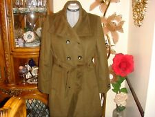 NWT Jones New York Womens Winter  Coat Outerwear  OLIVE  Size  14W