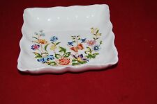 AYNSLEY Country Garden Square Pin/Trinket Dish