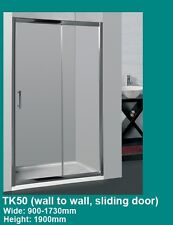 Wall to Wall, Shower Screen ADJUSTABLE 1110-1300