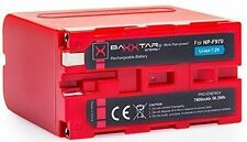 BAXXTAR Pro-energy Akku für Sony Np-f970 (echte 7800mah)