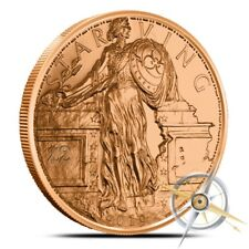 1 oz Copper Round - Starving Liberty Zombucks