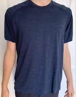 Lululemon Men's Size S Metal Vent Tech Short Sleeve SS Blue MINB/NUNY Run NWT