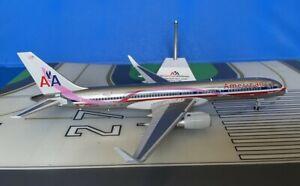 American Boeing 757-223/W N664AA Pink Ribbon 1/200 scale diecast JC Wings