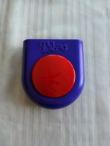 Taboo Game Buzzer Replacement Purple Red Vintage Tested and Works