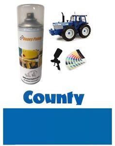 Ford County Tractor Blue Enamel High Endurance Paint 400ml Aerosol