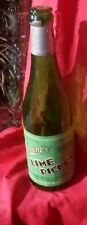 Vintage Early Prohibition Hamms Beer Lime Rickey Soda Pop Bottle W/ Label Sign