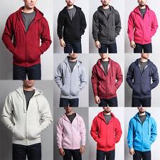 Men's Premium Heavyweight Sweatshirt Zip-Up Pullover Hoodie Sweater Unisex-13102
