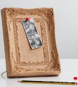 Suck UK - Cork Pinboard Mini Cork Pinboard Picture Frame Shape