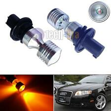 2X CAN-bus Amber PH24WY LED Front Turn Signal Light Bulbs For Audi Cadillac etc