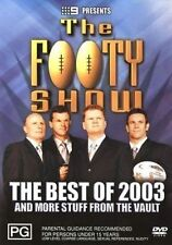 The Footy Show - The Best Of 2003 And Other Stuff From The Vault (DVD, 2004)