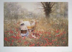 Perfect Day - vintage poster print - Rex Trayhorne - 63x44cm, poppy poster