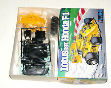 Fujimi Lotus 99T Honda F1 Motorized Model Car Kit
