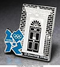 OLYMPIC PINS BADGE 2012 LONDON ENGLAND UK  LANDMARK  SERIES 10-DOWNING STREET