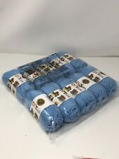 Nib Lion brand Sky acrylic yarn Lot of 10 Skeins 650 yards total Msrp $45