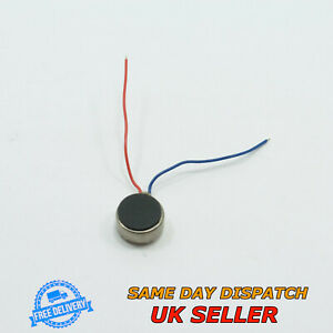 Micro Flat Vibration Motor 8x3.4mm for Cell Phone Pager Coin Mobile Vibro Button