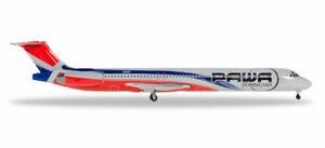 Herpa Wings 531603 PAWA Dominicana McDonnell Douglas MD-83 1/500 Scale Model
