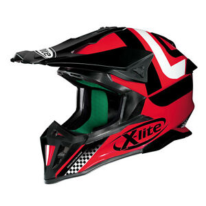 Casque Cross X-LITE X-502 Best Trick - 7 corsa Rouge TAILLE S