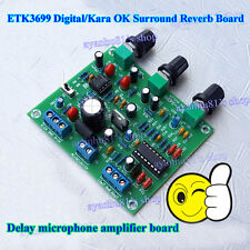 ETK3699 Digital Kara OK Surround Reverb Delay Microphone Amplifier Preamp Board