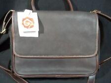 Rosetti Organizer Messenger Bag Purse Brown