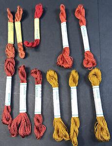 11 NEW Skeins Silk Mori Kreinik Pure Silk Floss 5.5 yards FREE SHIPPING