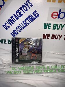 Area 51 (Playstation 1 PS1) Factory Sealed Hangtab NIB NM