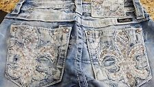 NWT Miss Me Jeans Signature Boot low rise stretch size 25 26X29