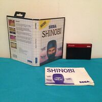 Shinobi Sega master system International variant