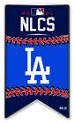 2021 MLB NLCS L.A. DODGERS PIN NATIONAL LEAGUE WORLD SERIES METAL BASE AMINCO