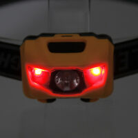 600LM 3xR4+2 RED LED Mini Waterproof Hunting Head Torch Headlamp Headlight 4Mode
