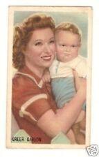 Greer Garson    Vintage Kwatta Movie Star Card  Look! B