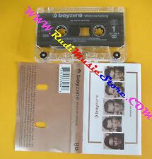 MC BOYZONE Where we belong 1998 netherlands POLYDOR 557398-4 no cd lp vhs dvd
