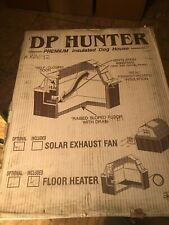 Dp Hunter Premium Insulated Dog House #K0092 w/ Floor Heater *New/Old Stock*
