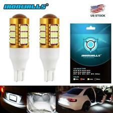 2x 921 912 T15 W16W 6000K White Cree Led Backup Brake Reverse Light Parking Bulb