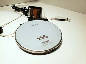 SONY WALKMAN D-NE730 Portable CD Player Tested Good Condition Working