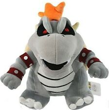 SUPER MARIO BROS. SKELOBOWSER PELUCHE Dry Bones Skelo Bowser 2 Plush King Koopa