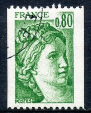 STAMP / TIMBRE DE FRANCE OBLITERE N° 1980  TYPE SABINE ROULETTE